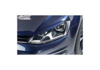Headlight Spoilers Volkswagen Golf VII 2012-2017 (ABS)