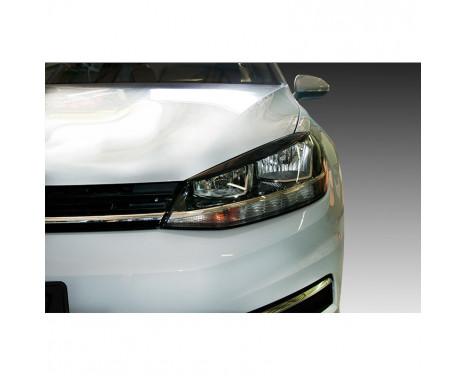 Headlight spoilers Volkswagen Golf VII Facelift 2017- (ABS)
