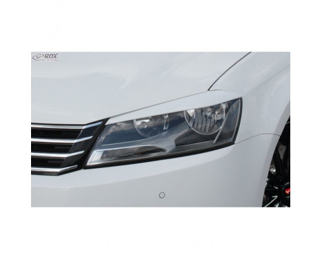 Headlight Spoilers Volkswagen Passat 3C Facelift 2011-2014 (ABS)