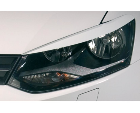 Headlight Spoilers Volkswagen Polo 6R 2009- (ABS)