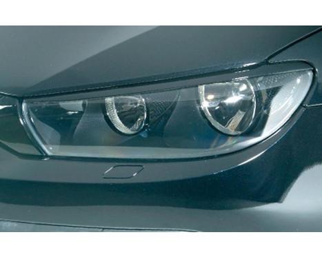 Headlight Spoilers Volkswagen Scirocco 2008- (ABS)