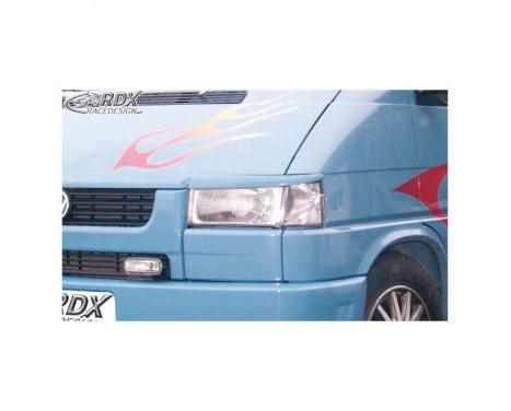 Headlight Spoilers Volkswagen T4 1991- (straight headlight) (ABS)