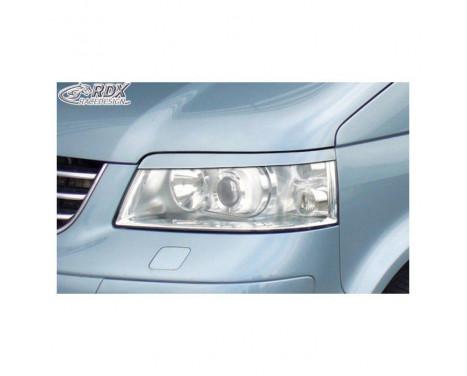 Headlight Spoilers Volkswagen T5 2003-2010 (ABS)