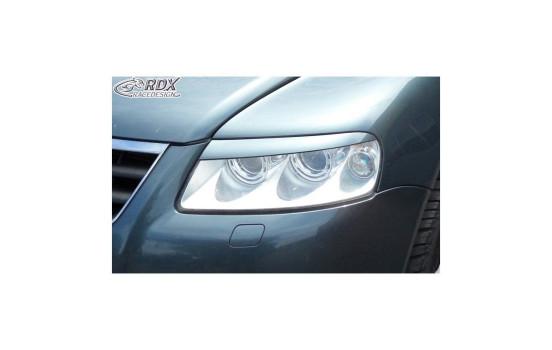 Headlight Spoilers Volkswagen Touareg -2006 (ABS)