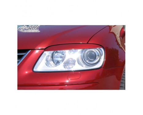 Headlight Spoilers Volkswagen Touran 1T 2003-2006 & Caddy 2004-2010 (ABS)
