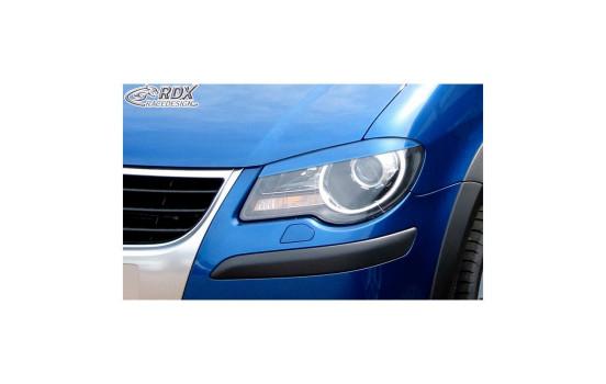 Headlight Spoilers Volkswagen Touran 1T Facelift 2006-2011 (ABS)