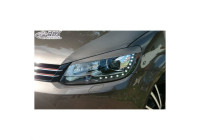 Headlight Spoilers Volkswagen Touran 1T1 Facelift 2011-2014 & Caddy 2010-2015 (ABS)