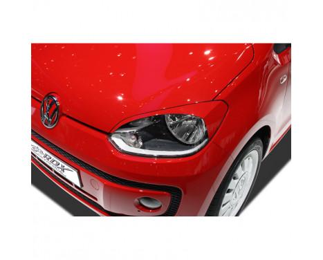 Headlight spoilers Volkswagen Up! 2012- (ABS)