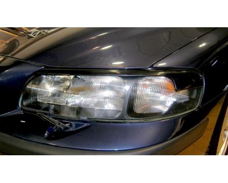 Headlight Spoilers Volvo S60 / V70 2000-2004 (ABS)