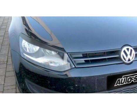 Lester Headlight Spoilers Volkswagen Polo 6R 2009-2014 (ABS)