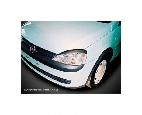 Opel Corsa C 2000-2006 (ABS) headlight spoilers
