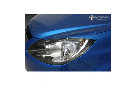 Opel Corsa D 2006-2014 (ABS) headlight spoilers