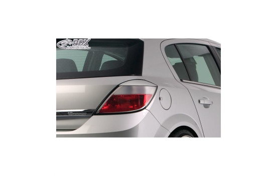 Tail Light spoilers Opel Astra H HB 5-door 2004-2009 (ABS)
