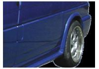 Dietrich Mudguard Extensions Volkswagen Transporter T4 1991-1996