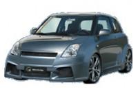 IBherdesign Mudguard Extensions 'for' Suzuki Swift 3-door 2005- 'Karang Wide'