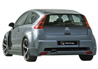 IBherdesign Mudguard Extensions 'Rear' Citroën C4 Coupe 'Sindrome Wide'
