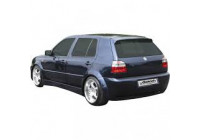 Rear wing fenders rear left 9011 VW Golf III