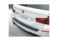 ABS Rear bumper protector BMW 5-Series F11 Touring 2010- 'M-Style' Black