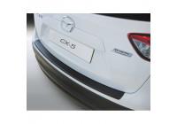 ABS Rear bumper protector Mazda CX5 4 / 2012- Black
