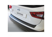 ABS Rear bumper protector Nissan Qashqai 3 / 2014- Black