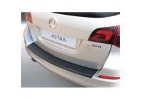 ABS Rear bumper protector Opel Astra J Sports Tourer 2010- Black