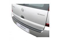 ABS Rear bumper protector Opel Meriva 2003-2010 Excl. OPC Black