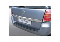 ABS Rear bumper protector Opel Zafira B 2005- Black