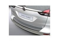 ABS Rear bumper protector Opel Zafira Tourer 2012- Black