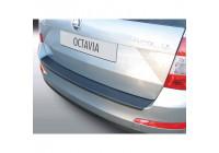ABS Rear bumper protector Skoda Octavia Kombi 6 / 2013- (excluding VRS) Black