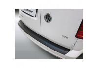 ABS Rear bumper protector Volkswagen Caddy / Maxi 6 / 2015- Black