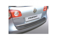 ABS Rear bumper protector Volkswagen Passat 3C Variant 2005-2010 Black
