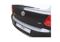 ABS Rear bumper protector Volkswagen Polo 6R 3/5 doors 2009-2014 Black