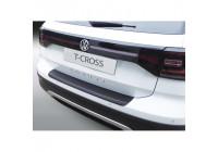 ABS Rear bumper protector Volkswagen T-Cross 2019- Black