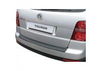 ABS Rear bumper protector Volkswagen Touran -8/2010 Black