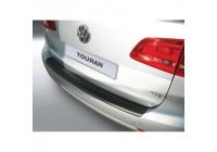 ABS Rear bumper protector Volkswagen Touran 9 / 2010- Black