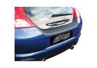 ABS Rear bumper protector Volvo C30 Black