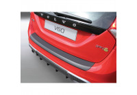 ABS Rear bumper protector Volvo V60 Estate 2010- Black