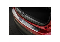 Stainless steel rear bumper protector Mazda CX-5 2012- 'Ribs'