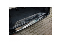 Stainless steel rear bumper protector Mercedes Vito & V-Class 2014- 'Ribs'