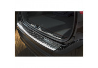 Stainless steel rear bumper protector Volvo XC60 2013- 'Ribs'