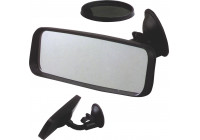 Rear View Mirror with suction cup