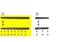 Trim/Protective Strip, door