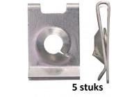Carosserie - Mount clip 4.8mm galvanized - 5 pieces