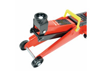 Garage jack Alu / Steel with safety 2000 kg