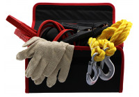 Pechset Safety Kit (jumper cables, tow Wheel Rim + gloves)