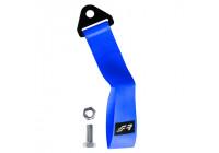 Simoni Racing Towing Eye Belt - Blue - max. 3000 kg - Length 28 cm