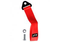 Simoni Racing Towing Eye Belt - Red - max. 3000 kg - Length 28 cm