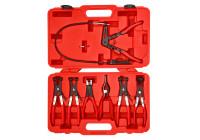 Hose clamp pliers set 7 pcs.