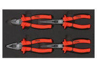 Pliers set 4 pcs. (German) SFS 1/3