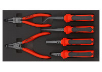 Pliers set 8 pcs. (German) SFS 1/3